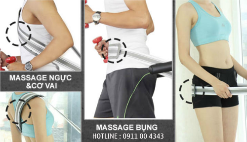Thay dây massage máy chạy bộ cơ