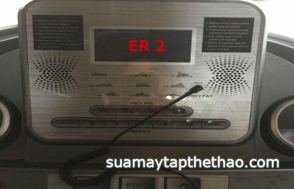 Máy chạy bộ báo lỗi E2 E4 E6 là 90% động cơ bị om nguồn