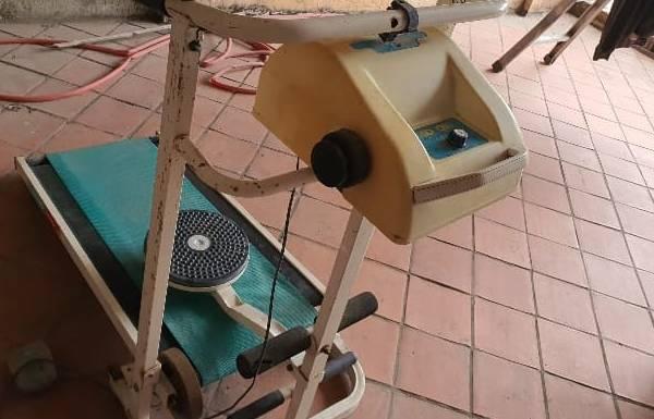 Tận dụng máy chạy bộ cơ cũ chạy chống cháy thời dịch bệnh