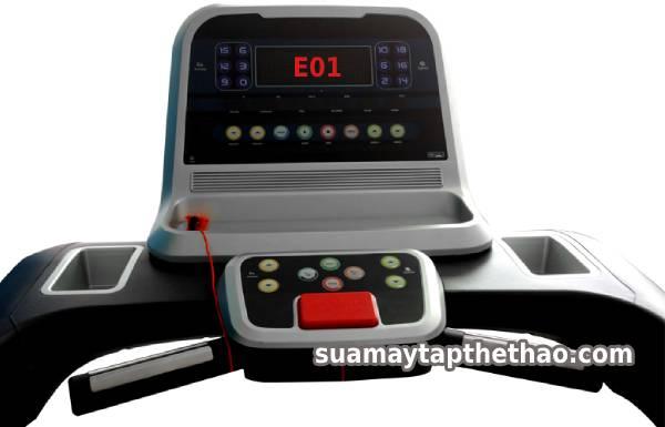 Tranh cãi lỗi E01 máy chạy bộ là cảm biến tốc độ hay động cơ