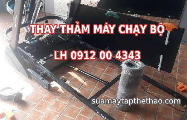 Thay thảm máy chạy bộ